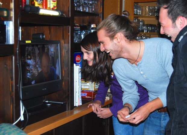 Pub-twinning language lessons
