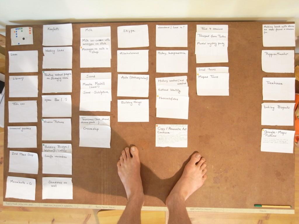 MOKS residency brainstorm
