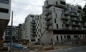 New apartments being built in Auwiesen