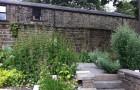 The Rossendale medicinal herb garden