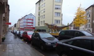 Dinosaur in Stuttgart
