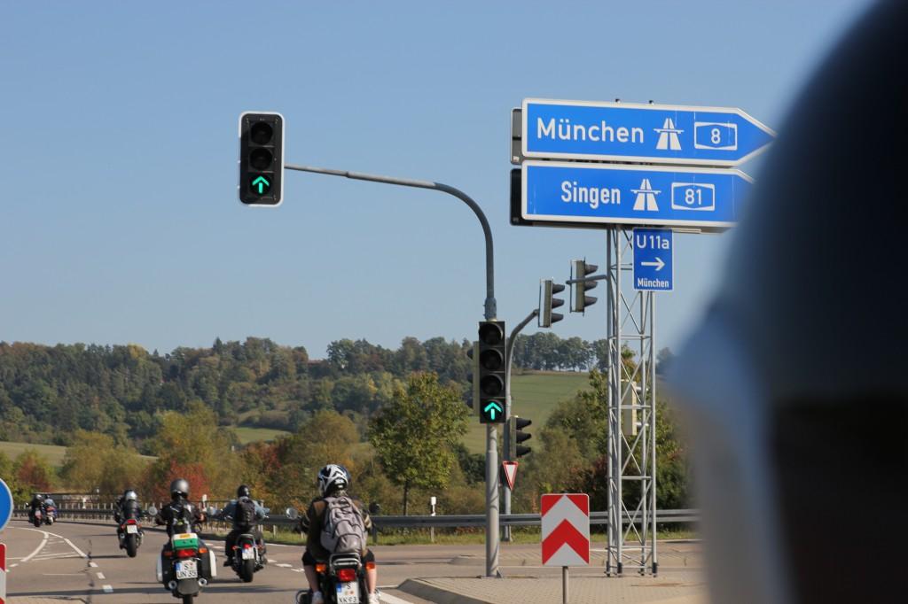 Alles easy, I'm a biker - On the road