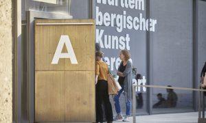 """Kudielka/Wimberley, """"Von A nach B"""", Installative Performance"""